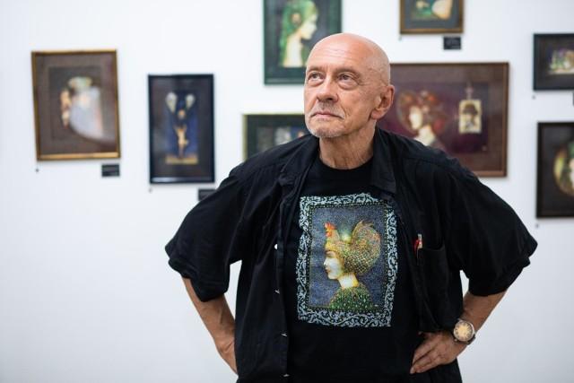 Baśniowe kobiety to jeden z najczęstszych motywów w pracach Władysława Szyszki
