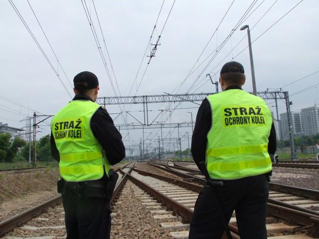 Dzięki szybkiej reakcji Straży Ochrony Kolei nie doszło do zakłóceń w ruchu kolejowym