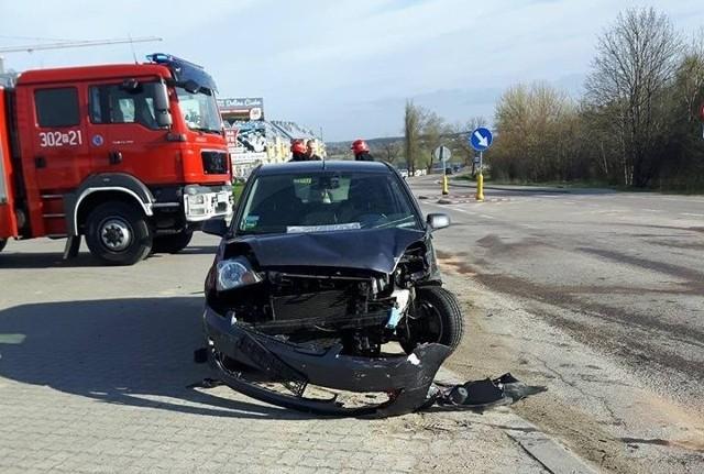 W środę około godz. 8 strażacy z OSP Wasilków pojechali do wypadku na ul. Białostockiej w Wasilkowie na wysokości Doliny Cisów.