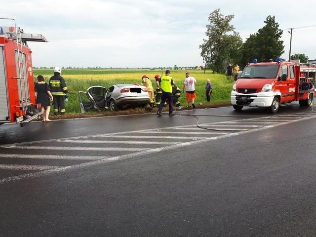 Wypadek w Murczynie 22.06.2021.