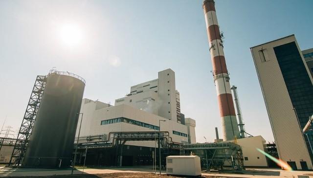 Jedna z istniejących już elektrociepłowni Fortum  w Polsce zasilanej odpadami.
