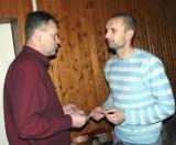 Piłkarze Stali Stalowa Wola podzielili się opłatkiem (zdjęcia)
