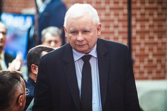 Jarosław Kaczyński: Donald Tusk doprowadził do zupełnego zniszczenia jakichkolwiek zasad politycznych