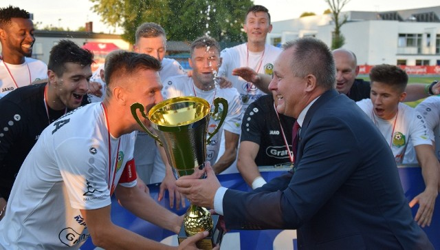 Piłkarze Lechii Zielona Góra wygrali Puchar Polski na szczeblu wojewódzkim w 2020 roku. W finale pokonali Wartę Gorzów
