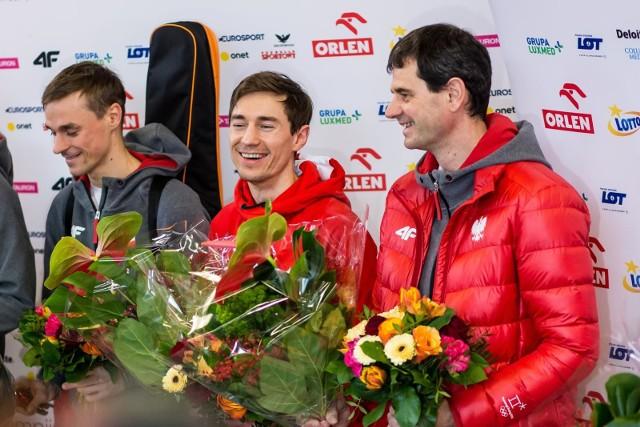 Stefan Horngacher (z prawej)