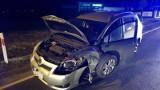 Wypadek w Rudzie pod Grudziądzem. Dwie osoby w szpitalu [zdjęcia]
