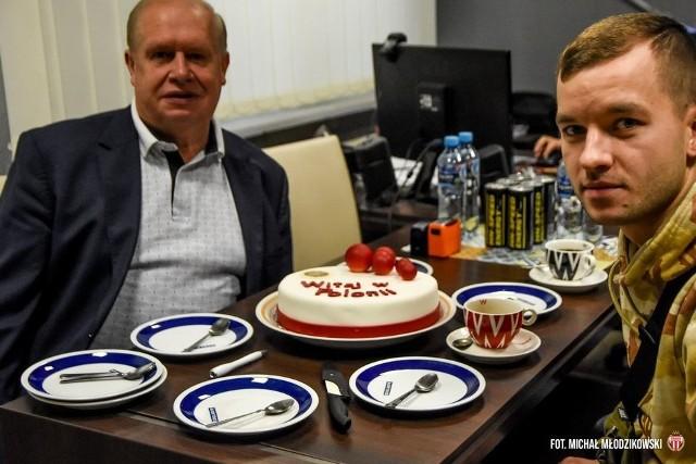 Jerzy Kanclerz i Wadim Tarasienko