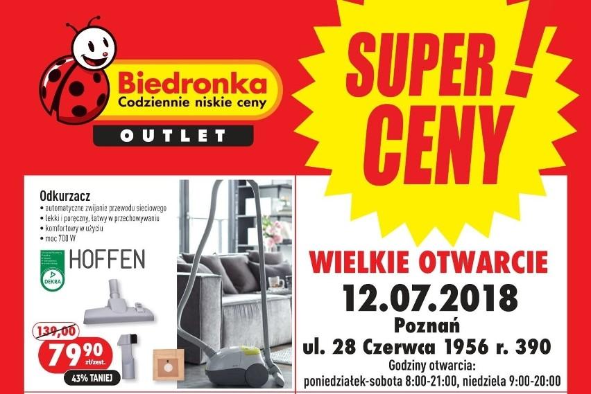 Biedronka Otwiera Outlet We Wrocławiu Ceny Niższe Nawet O