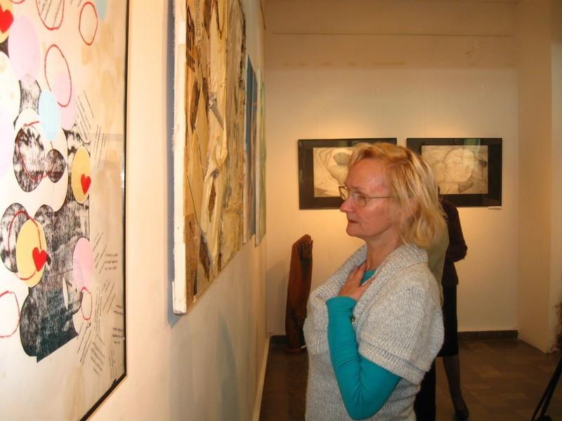 Dziś otwarto wystawę pokonkursową Salonu Jesiennego.