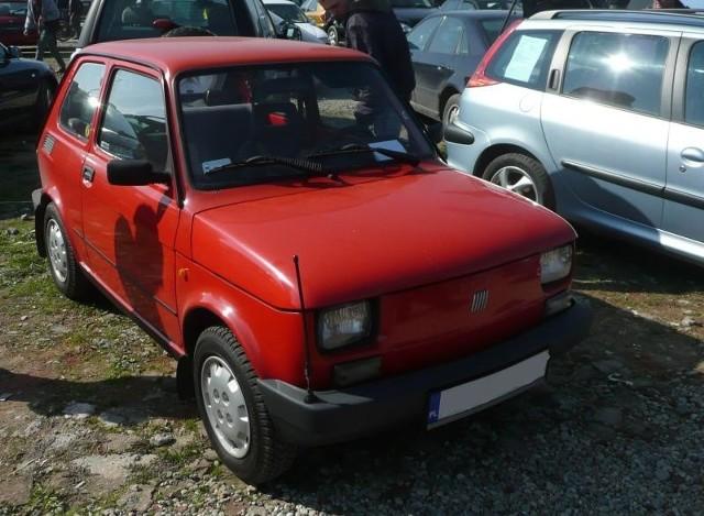 13. Fiat 126 elSilnik 0,6 benzyna. Rok produkcji 1996. Cena 1300 zl.