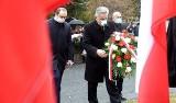 Tak wyglądały obchody 11. rocznicy katastrofy smoleńskiej na cmentarzu przy ul. Wrocławskiej w Zielonej Górze