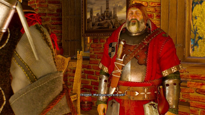 Cytat ten wypowiada Geralt po długiej misji związanej z...
