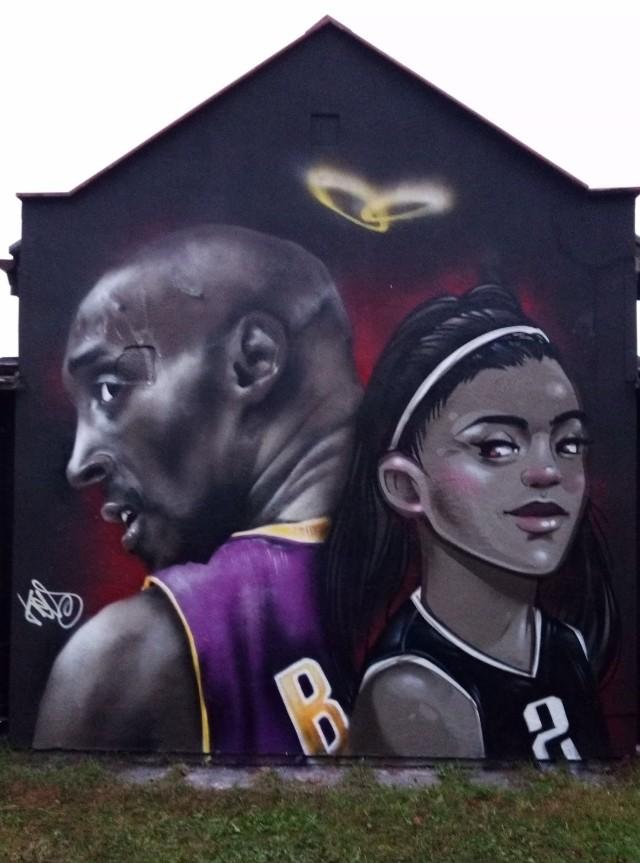 W Starogardzie Gdańskim uhonorowano legendę NBA Kobe Bryanta