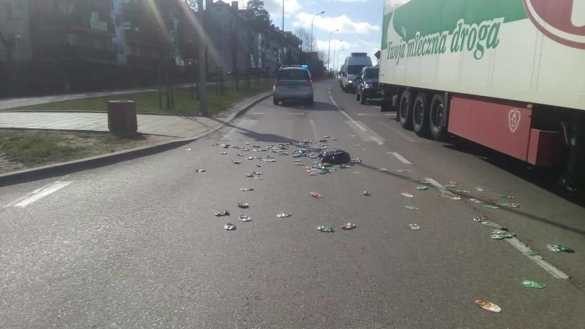 Kolejny wypadek na przejściu dla pieszych przez Żeromskiego...