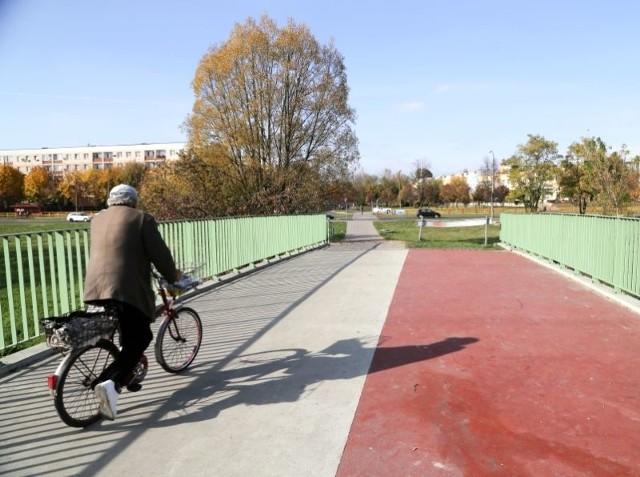 Ulica Chrobrego ma być przedłużona od ul. Piastowskiej do Gospodarskiej. Teraz jest tu kładka dla pieszych i rowerzystów.
