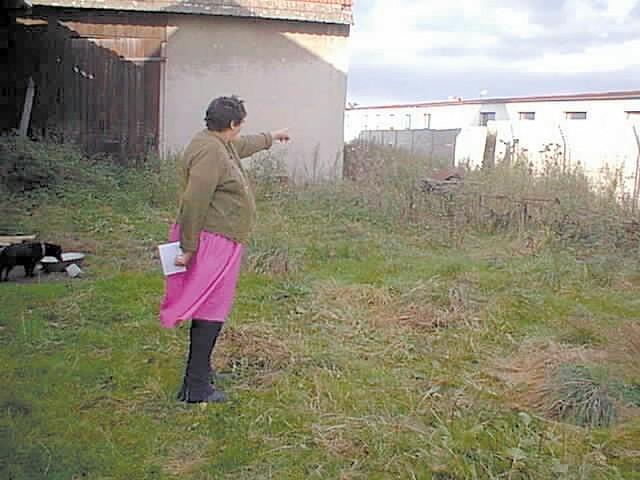- W tym miejscu mam przerwane dreny w ziemi, więc do wody w piwnicy dostają się nieczystości - pokazuje Stefania Mudra.