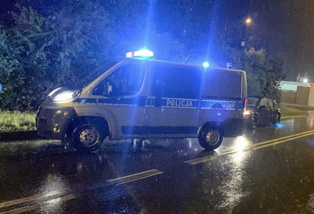 Interwencja policji w Głogówku.