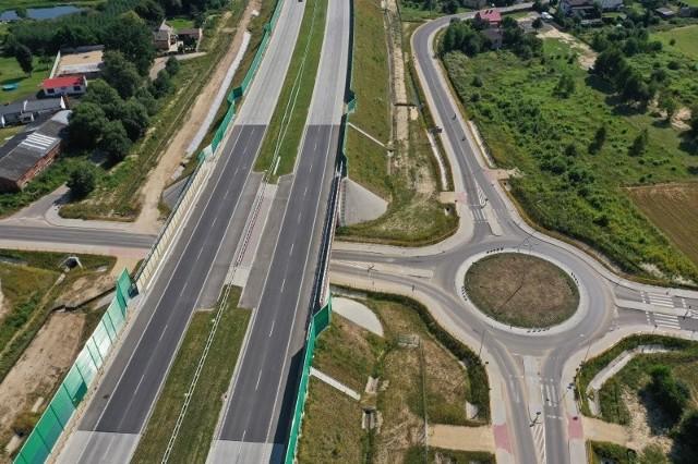 Autostrada A1, odcinek F. Okolice węzła Blachownia.Zobacz kolejne plansze. Przesuwaj zdjęcia w prawo - naciśnij strzałkę lub przycisk NASTĘPNE