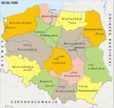Podział administracyjny Polski po II wojnie światowej. Jak zmieniały się województwa?