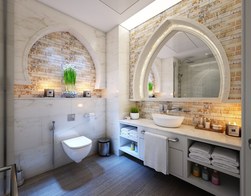 Oświetlenie łazienkowe Jak Powinno Wyglądać O Czym Warto