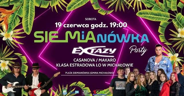 """W sobotę (19 czerwca) nad zalewem w Siemianówce odbędzie się """"Siemianówka Party"""". Koncerty zagrają m. in. Extazy, czy zespół Casanova."""