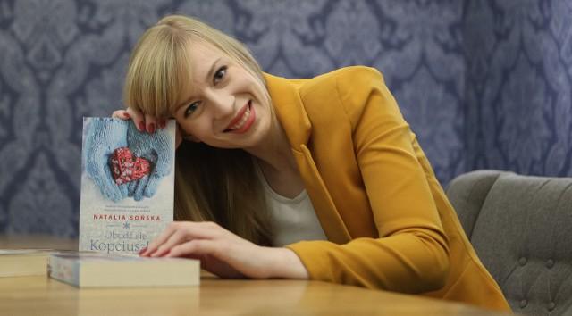 Natalia Sońska swoją przyszłość chce związać z prawem. - Ale z pisania nie zrezygnuję - zastrzega. - Nawet jeżeli miałabym znowu tworzyć tylko do szuflady.
