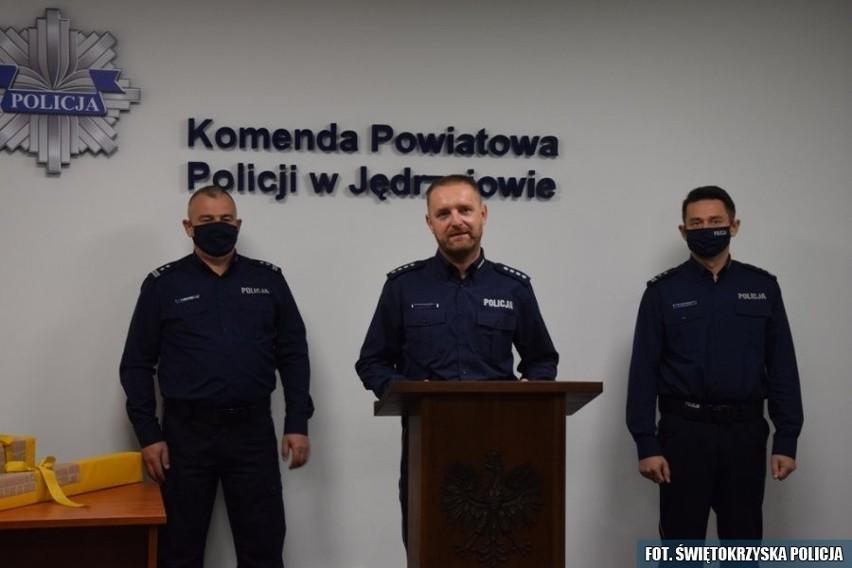 Nadkomisarz Grzegorz Lotko, nowym Pierwszym Zastępcą Komendanta Powiatowego Policji w Jędrzejowie.