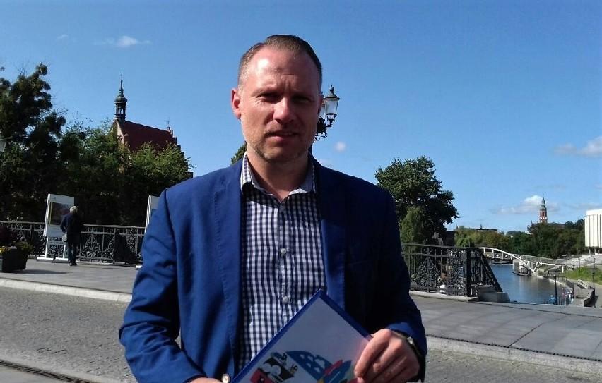 Łukasz Krupa, dyrektor Biura Promocji UM Bydgoszczy opowiada o działaniach miasta w kwestii zrównoważonego transportu.