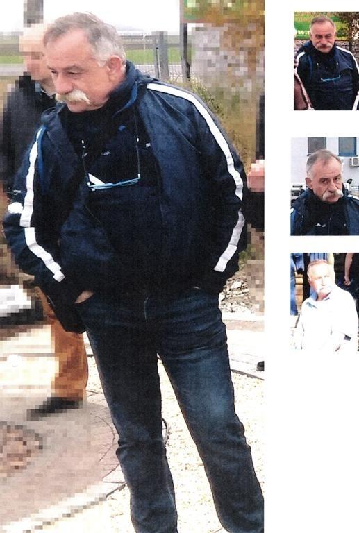 Zdjęcia poszukiwanego mężczyzny