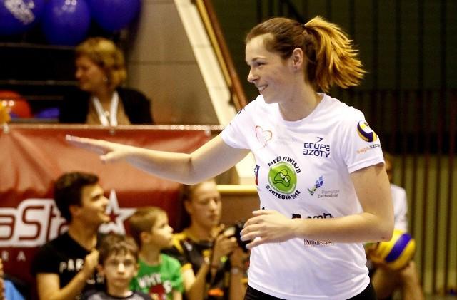 Katarzyna Gajgał-Anioł zadebiutowała w meczu gwiazd.