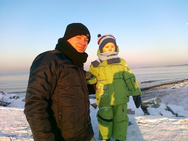 Pan Wojciech z synem Mikołajem. Dajmy mu szansę na życie