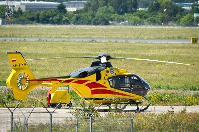 Plan jest taki, by w lipcu z bazy Lotniczego Pogotowia Ratunkowego w Polskiej Nowej Wsi zaczął startować taki śmigłowiec medyczny.