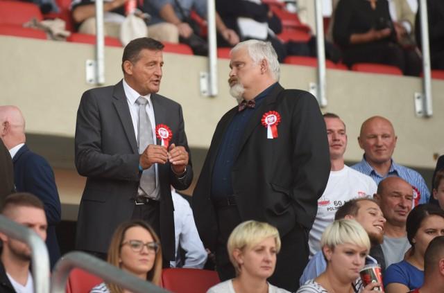 Tomasz Putra (po lewej) prowadził już polska reprezentację