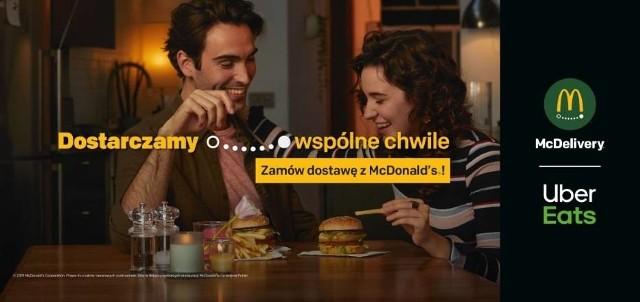 Już ponad 80 restauracji McDonald's w Polsce uruchomiło usługę McDelivery. Dzięki aplikacji Uber Eats mieszkańcy niektórych miast mogą zamawiać swoje ulubione produkty wraz z dostawą do domu. Teraz do tego grona dołączyła również Łódź.