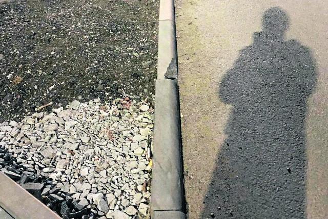 To jedno z wielu zdjęć,  jakie przy przebudowywanej ulicy turystycznej zrobił nasz Czytelnik