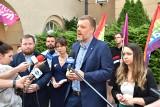 """Partia Razem krytycznie o nowym stadionie w Opolu. """"Karykatura jak Pałac Saski"""""""