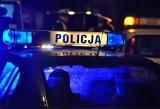 Tragiczny wypadek na trasie Wiele-Lubnia 28.08.2021. Samochód potrącił leżącego na jezdni mężczyznę