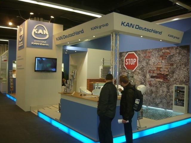 KAN demonstruje we Frankfurcie najnowsze rozwiązania z zakresu systemów ogrzewania podłogowego KAN-Therm.