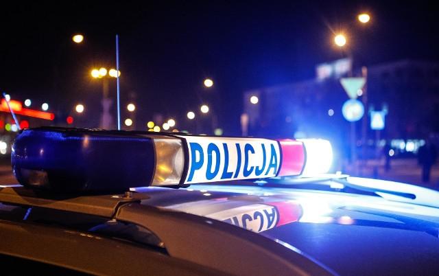 Wypadek na zakopiance w Głogoczowie