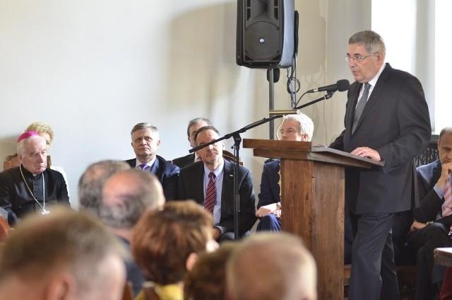 Uroczysta sesja Rady Miasta Poznania w ratuszu