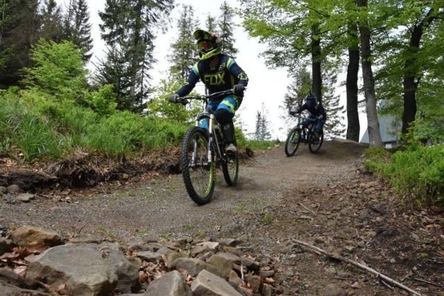 W ramach bielskiego Budżetu Obywatelskiego powstały m.in. popularne górskie ścieżki rowerowe Enduro Trials