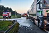Łódzkie: Wypadki na A2. Utrudnienia dla kierowców. ZDJĘCIA