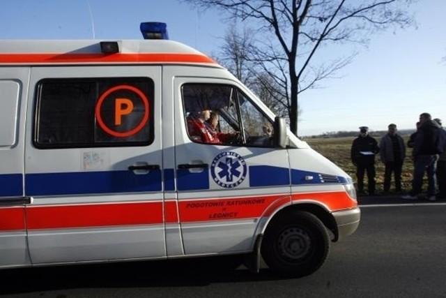Wypadek w Cieszynie na S52 sparaliżował ruch.