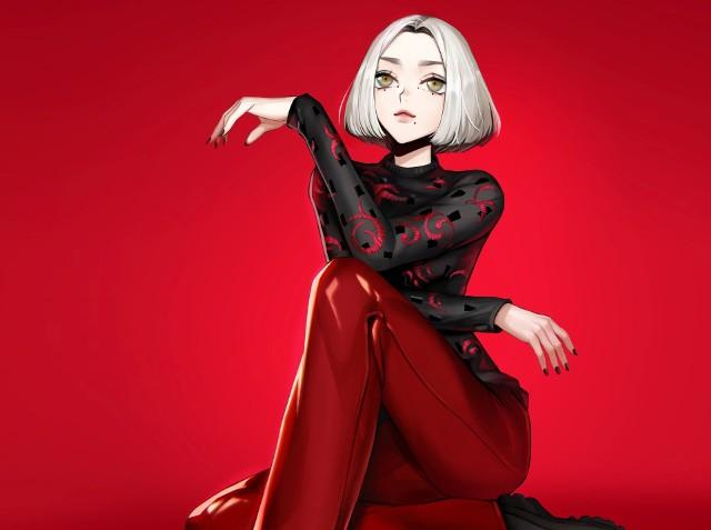 Daria Zawiałow jako postać z mangi - tak widzi piosenkarkę Agnieszka Szajewska