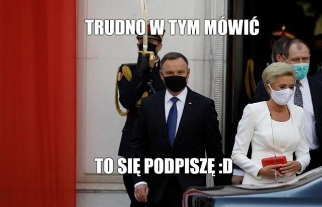 Zaprzysiężenie Andrzeja Dudy stało się faktem. Co na to internauci? Zobacz memyZobacz kolejne memy. Przesuwaj zdjęcia w prawo - naciśnij strzałkę lub przycisk NASTĘPNE