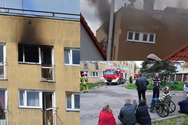 Pożar mieszkania przy ulicy Lechickiej. Do pożaru mieszkania doszło po godzinie 9 w Koszalinie przy ulicy Lechickiej. Spaliło się mieszkanie na ostatnim piętrze. Konieczna była ewakuacja mieszkańców. Na miejscu jest straż pożarna, policja oraz pogotowie.