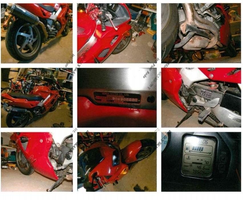 Motocykl sportowy Honda VFR 800 Fi, nr rej: BIA 80R2,...