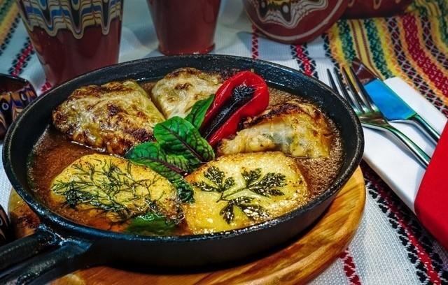 Festiwalowe danie restauracji Bułgarska 69.
