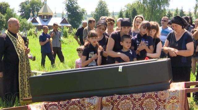 W środę, 26 czerwca na wsi Trójca w iwanofrankowskim obwodzie odbył się pogrzeb Vasyla Chorneia.
