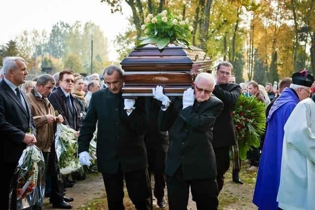 Pogrzeb Leona Kujawskiego
